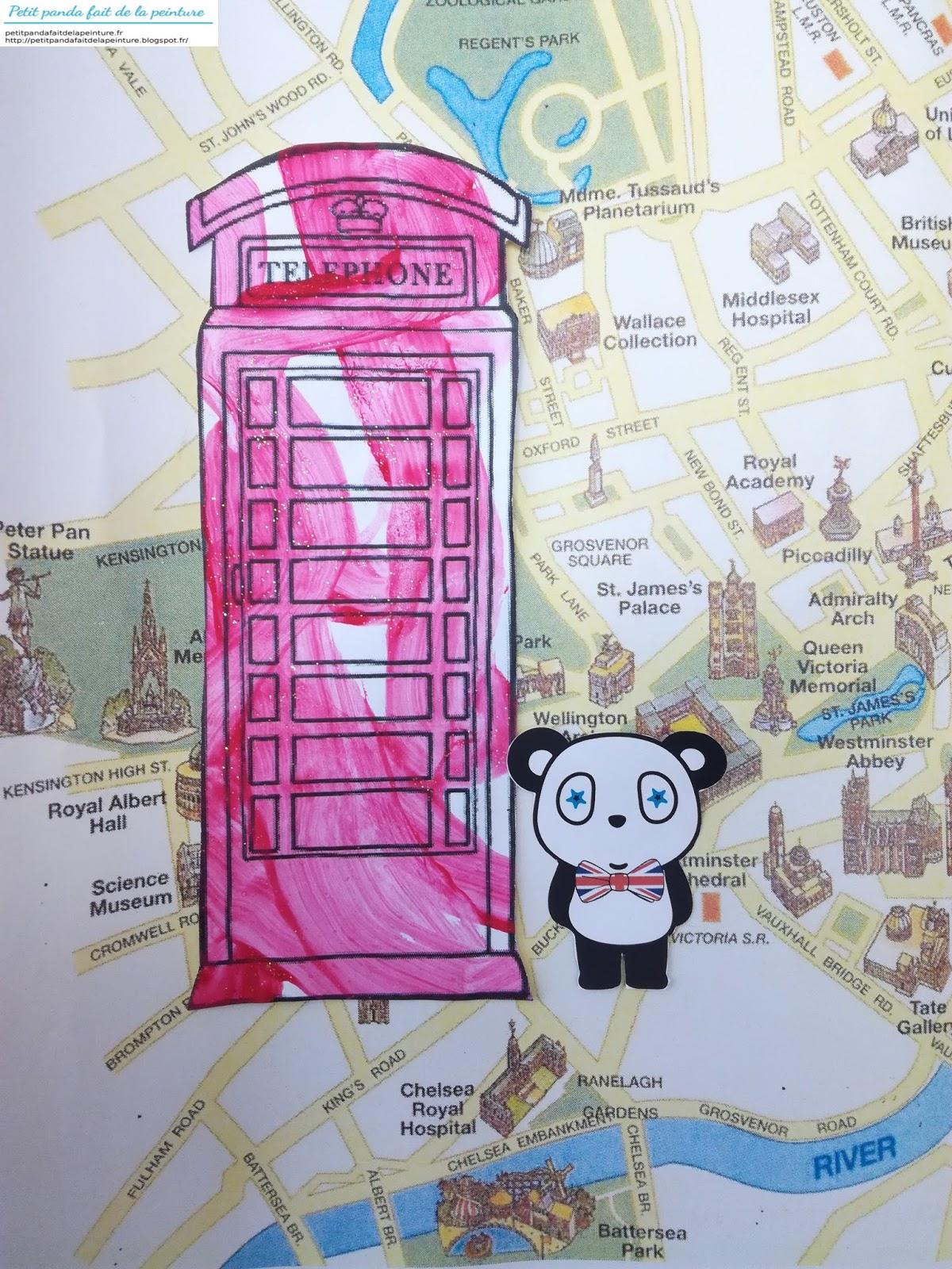 Petit Panda Fait De La Peinture: Theme Angletterre encequiconcerne Photo Anglaise A Imprimer