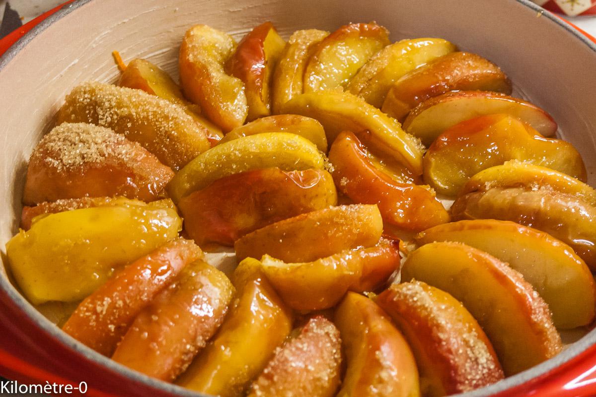 Photo De Recette De Tarte Tatin Kiwi, Pomme, Facile tout Tarte Pomme Banane Kiwi
