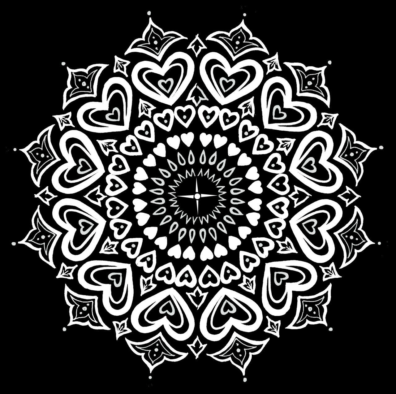 Pin Auf Dessin De Mandala tout Coloriage Mandala Anti Stress
