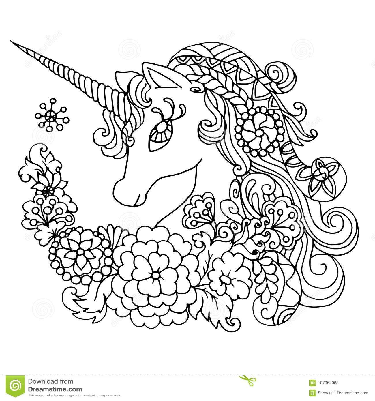Pin By Godmother Marija On 2019 Uskrs | Unicorn Coloring Pages concernant Dessin A Imprimer Licorne