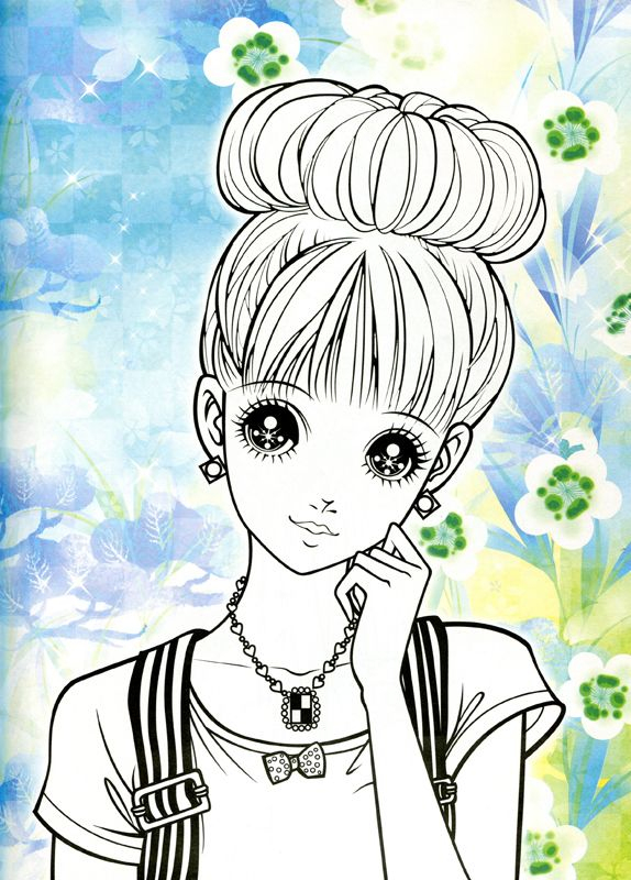 Pin By Kalinou Kalin On Coloring Pages | Manga Coloring intérieur Dessin Manga A Imprimer