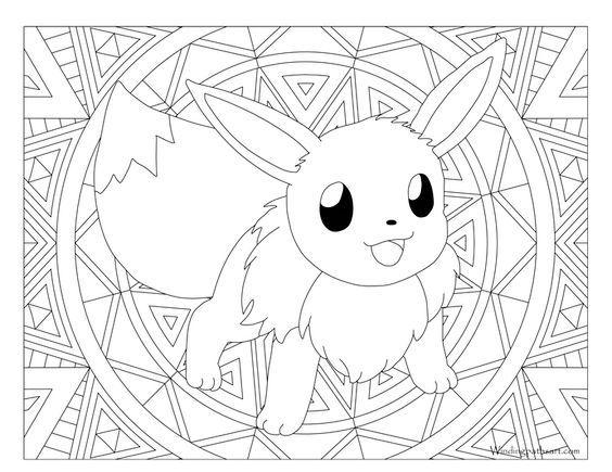 Pin By Sapphire Phoenix On Coloring   Pikachu Coloring à Dessin A Imprimer Pok?Mon Lougaroc Diurne