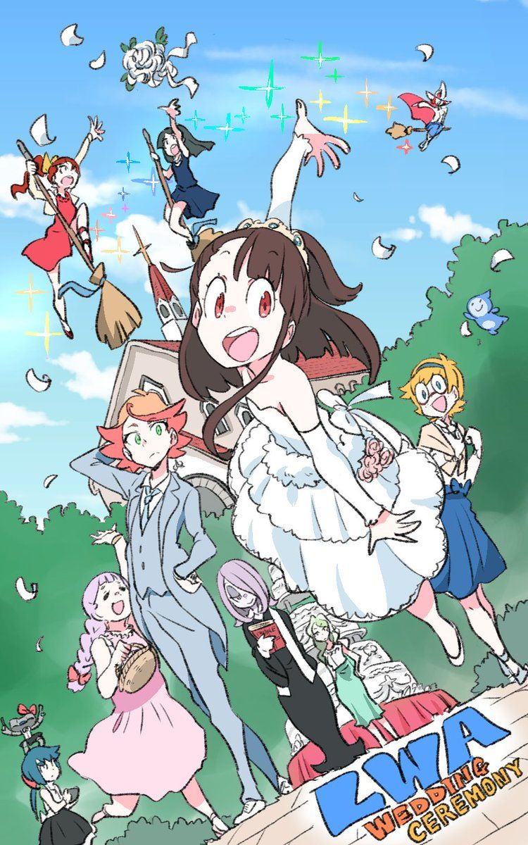 Pin De Ashley D En Lwa En 2019 | Academia, Little Witch destiné Manga Kawaii Chlo?