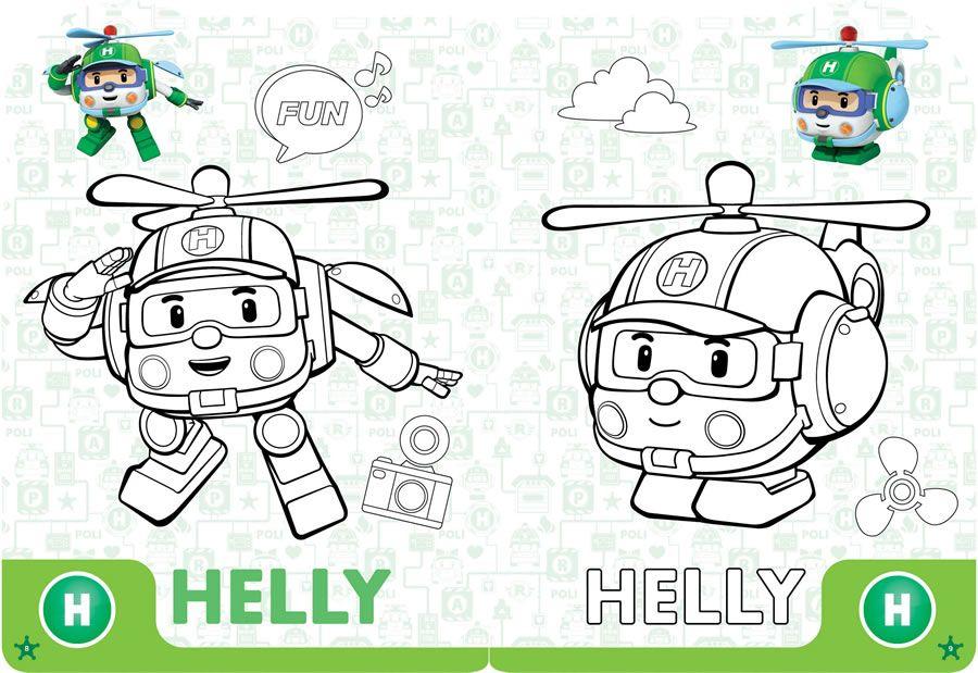 Pin De Lmi Kids En Robocar Poli | Dibujos Para Colorear intérieur Jeux De Robocar Poli Gratuit