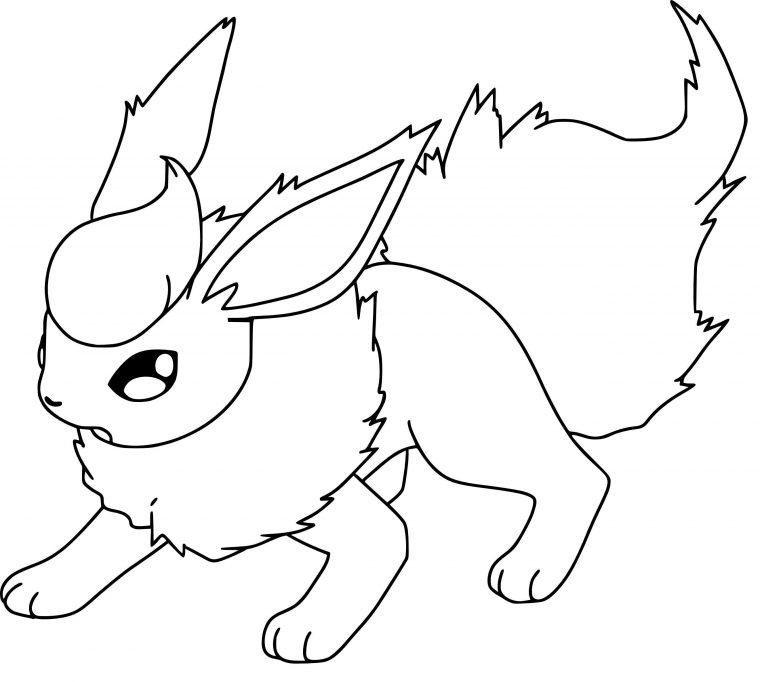 Coloriage Luxray Pokemon À Imprimer intérieur Noctali ...
