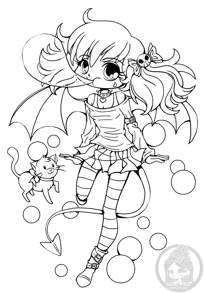 Pin On Coloring Pages à Coloriage A Imprimer Kawaii