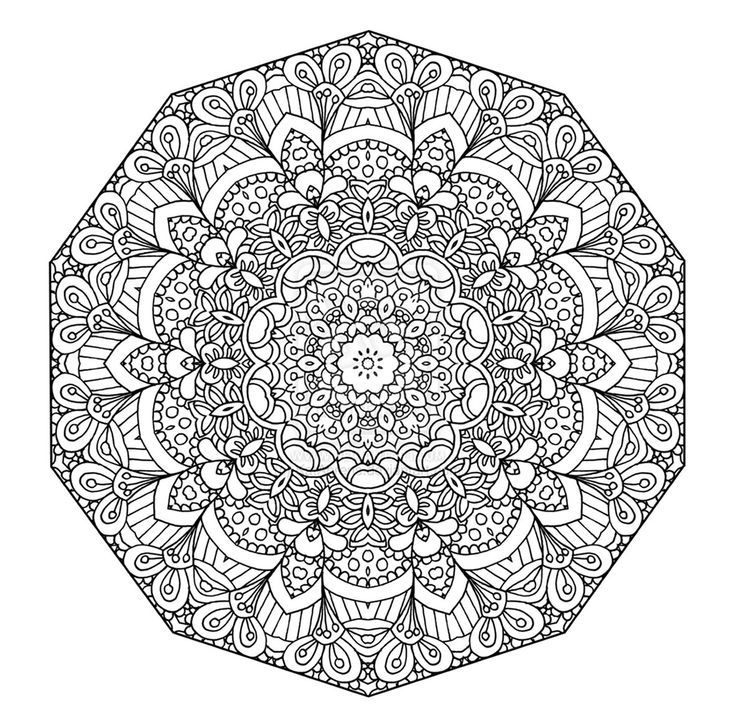 Pin On Coloring tout Coloriage Adulte Mandala