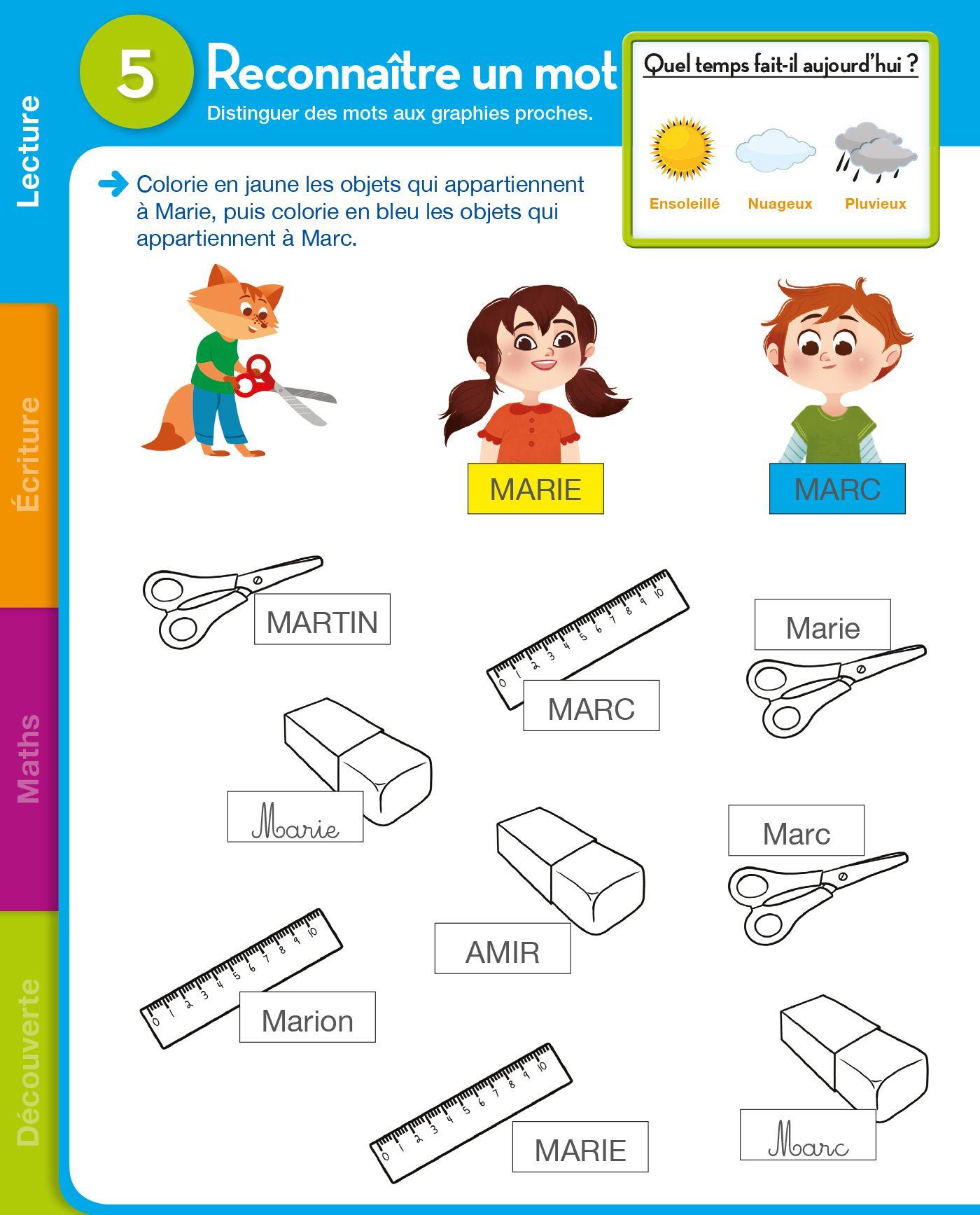 Pinterest Maternelle Grande Section - Recherche Google dedans Rentr?E Grande Section Maternelle