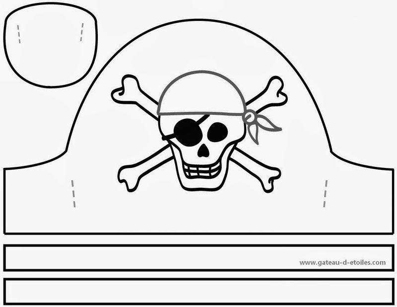 Pirate 1 intérieur Fabriquer Un Drapeau De Pirate