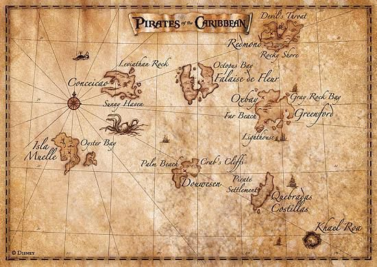 Pirates Des Caraïbes - Sagas avec Cherche Coffre De Pirate