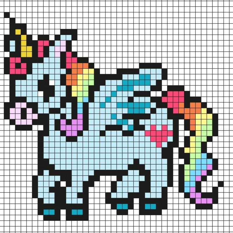 Pixel Art Par Tête À Modeler avec Jeux De Coloriage Pixel