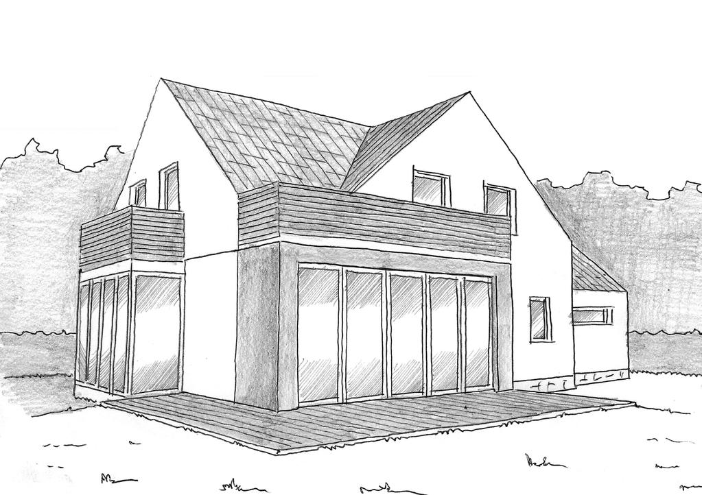 Plan Maison Contemporaine 140 M² - Ooreka concernant Dessin De Maison Moderne