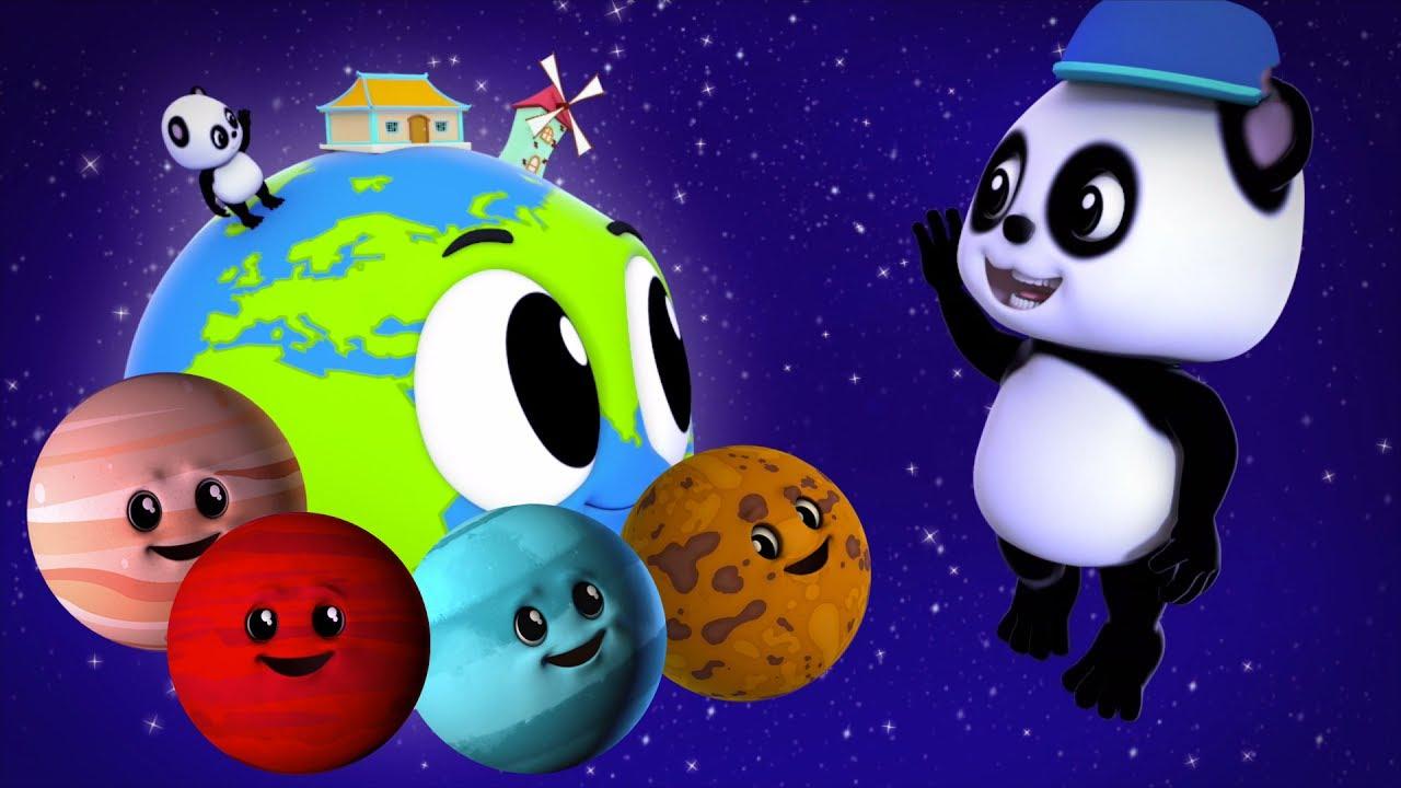 Planètes Chanson | Apprendre Planètes En Français | 3D destiné Les Chanson Pour Les Bébé