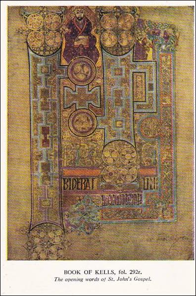 Playle'S: Book Of Kells Opening Words Of St John'S Gospel tout Book Of Kells .Asp?Id=