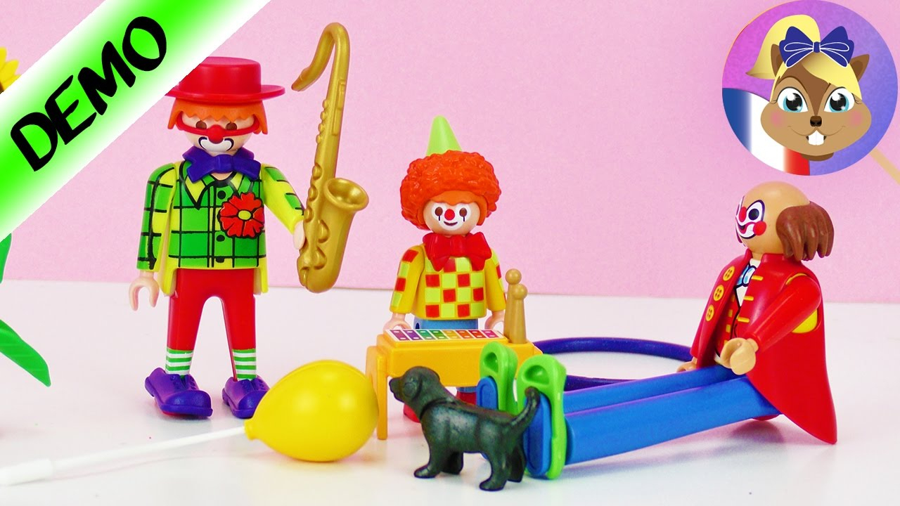Playmobil - La Famille Clown S'Agrandit | Il Y Aura tout Jeux De Clown Tueur Gratuit