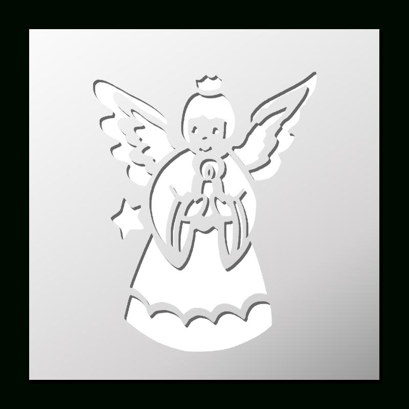 Pochoir Ange Noël | Pochoir Noel, Pochoir Et Pochoir D'Oiseau tout Pochoir De Noel Gratuit A Imprimer