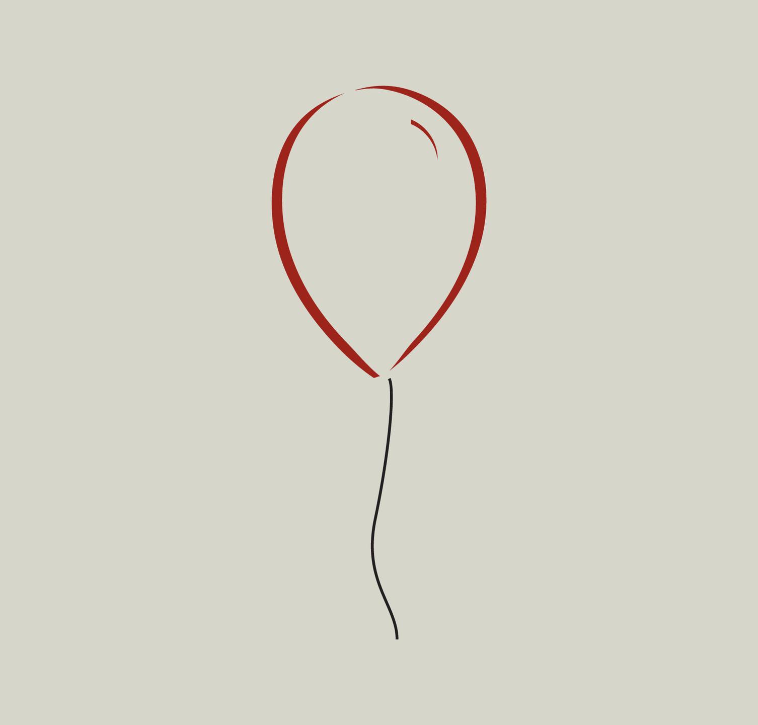 Pochoir Ballon. Dessin De Ballon Ref 323   Etsy tout Dessin Ballon Baudruche