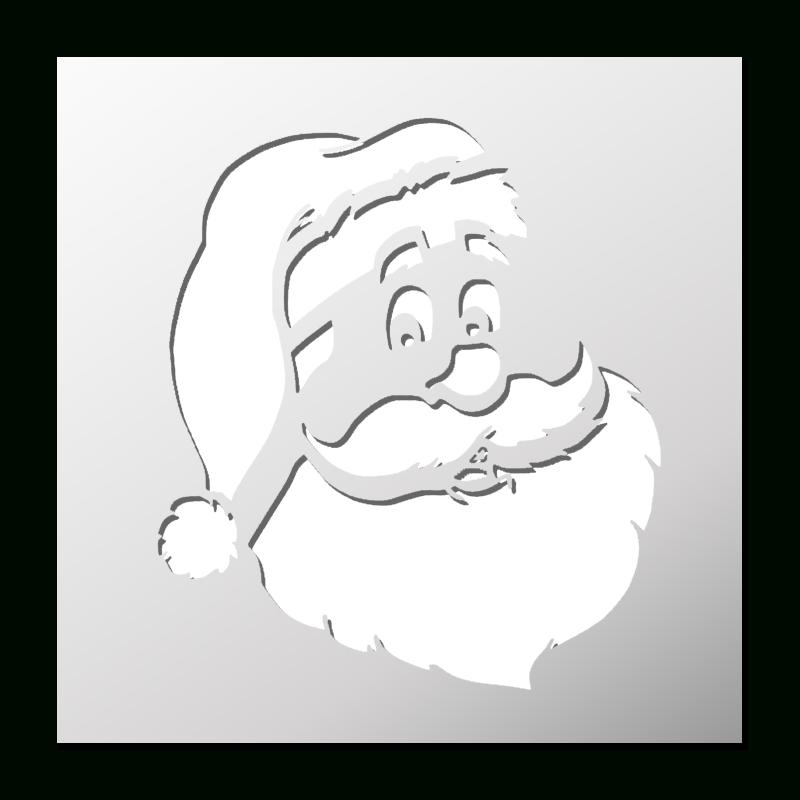 Pochoir Père Noël | Frenchimmo serapportantà Pochoir De Noel Gratuit A Imprimer