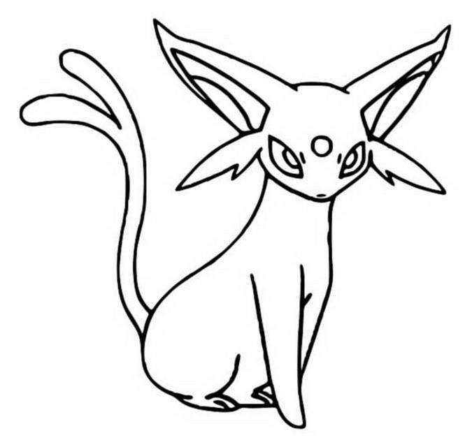 Pokemon Jolteon Coloring Sheet Coloring Pages concernant Noctali Pokemone Coloriage