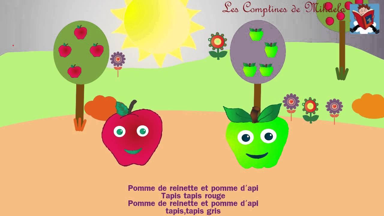 Pomme De Reinette Et Pomme D'Api - pour Pomme De Renette