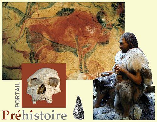 Portail:préhistoire/Entête — Wikipédia avec Dessin De La Préhistoire A Imprimer