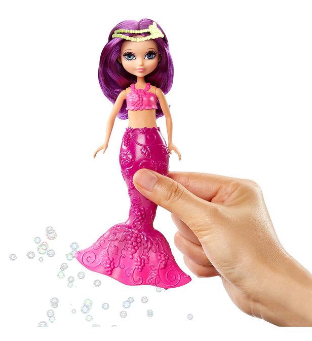 Poupée Barbie Dreamtopia : Petite Sirène À Bulles avec Barbie Sirene A La Plage