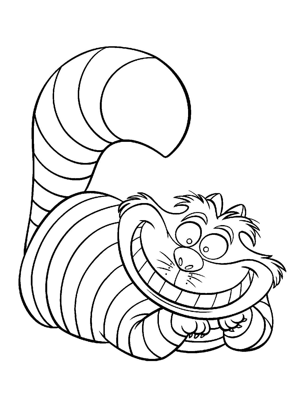 Pour Imprimer Ce Coloriage Gratuit «Coloriage-Alice-Aux destiné Telecharger Des Coloriage