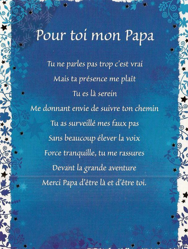 Pour Toi Mon Papa - L'Histoire D'Une Vie tout Poeme Pour Papa