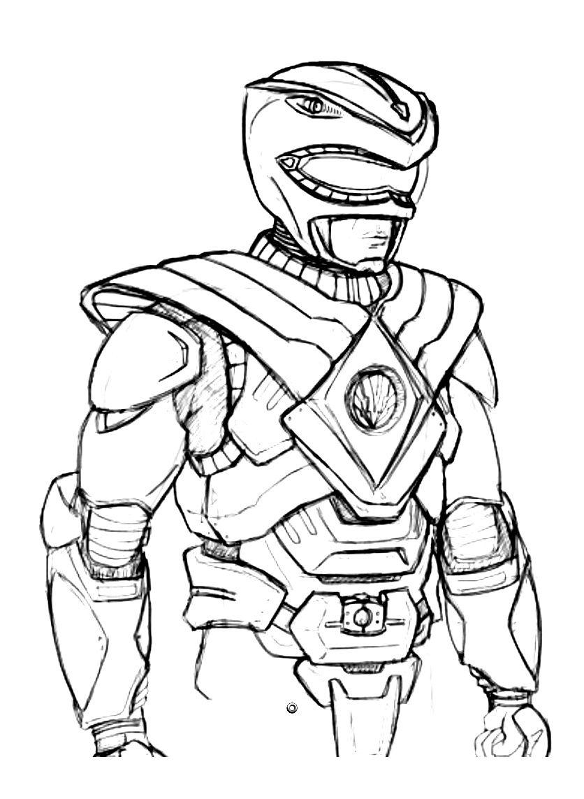 Power Ranger Coloriage . 9 Ordinaire Power Ranger serapportantà Coloriage Power Rangers A Imprimer
