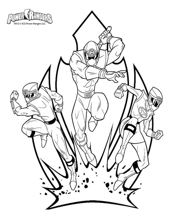 Power Rangers 1 - Coloriage Power Rangers - Coloriages destiné Coloriage Power Rangers Ninja Steel A Imprimer