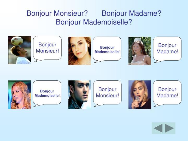 Ppt - Les Salutations Powerpoint Presentation - Id:2578675 serapportantà Bonjour Monsieur Ca Va