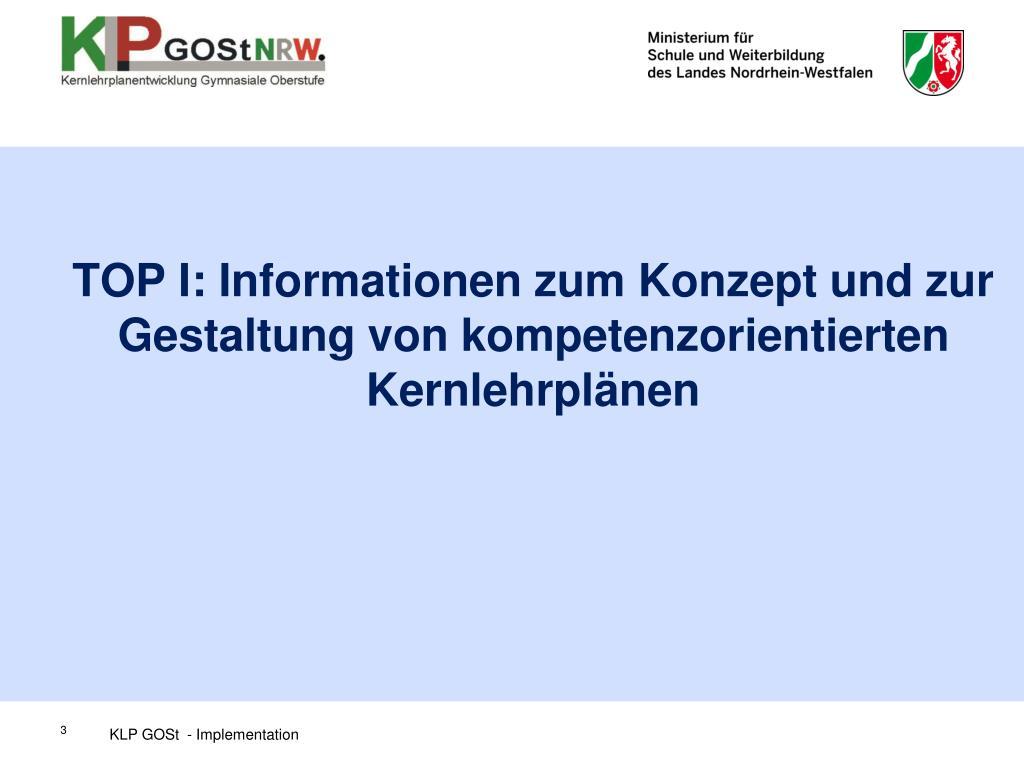 Ppt - Neue Kernlehrpläne Für Die Gymnasiale Oberstufe tout Kernlehrplan