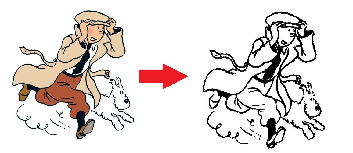 Pratiques Artistiques | Ma Maitresse De Cm1-Cm2 | Page 3 concernant Coloriage Tintin Et Milou