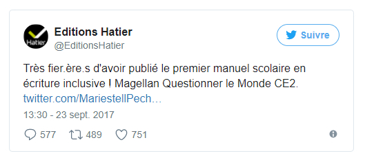 Premier Manuel Scolaire En Écriture Inclusive serapportantà ?Criture Inclusive