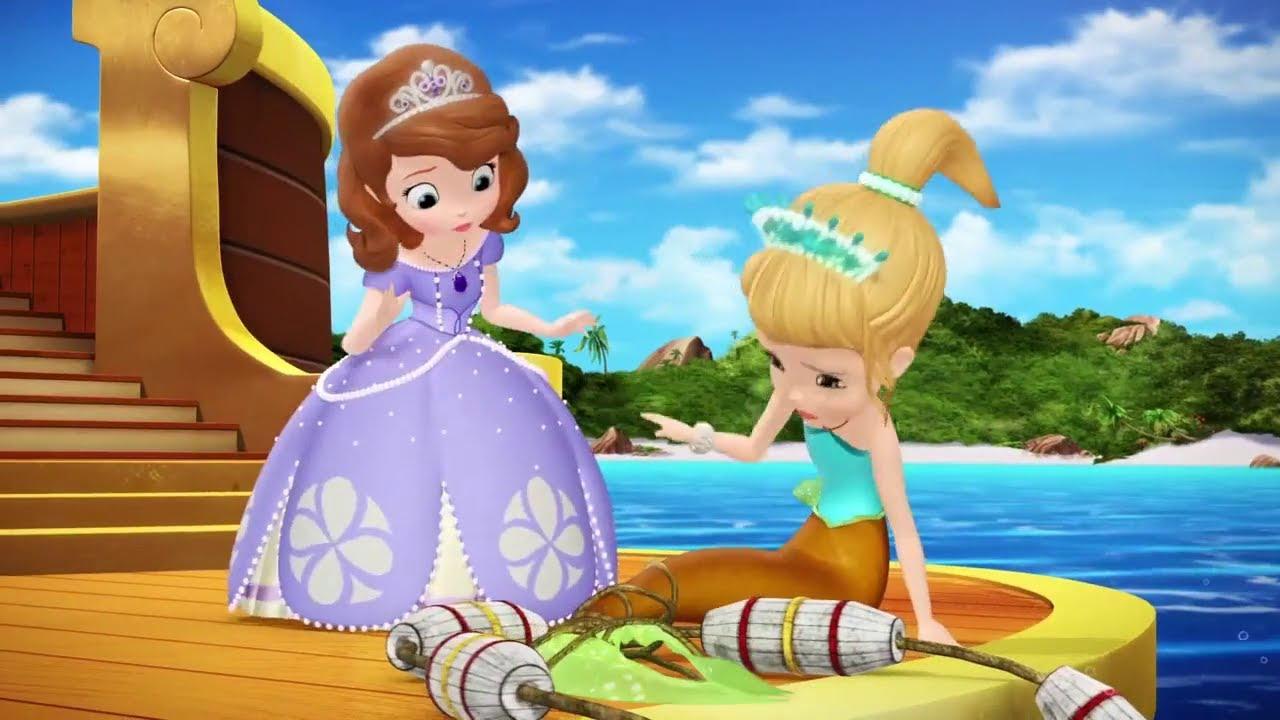 Princesse Sofia - Une Sirène ! Extrait Vf Au Royaume Des serapportantà Dessin Animé Princesse Sofia