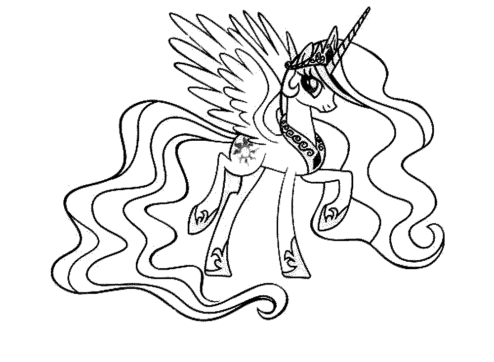Print & Download - My Little Pony Coloring Pages: Learning serapportantà My Little Pony A Imprimer
