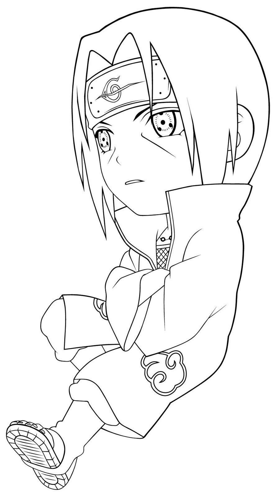 Printable Coloring Pages: Naruto Coloring Pages encequiconcerne Coloriage Naruto