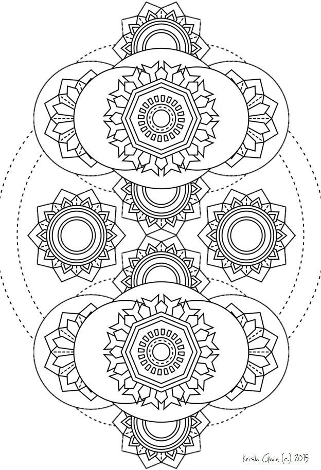 Printable Intricate Mandala Coloring Pages, Instant tout 100 Greatest Mandala Coloring Book: