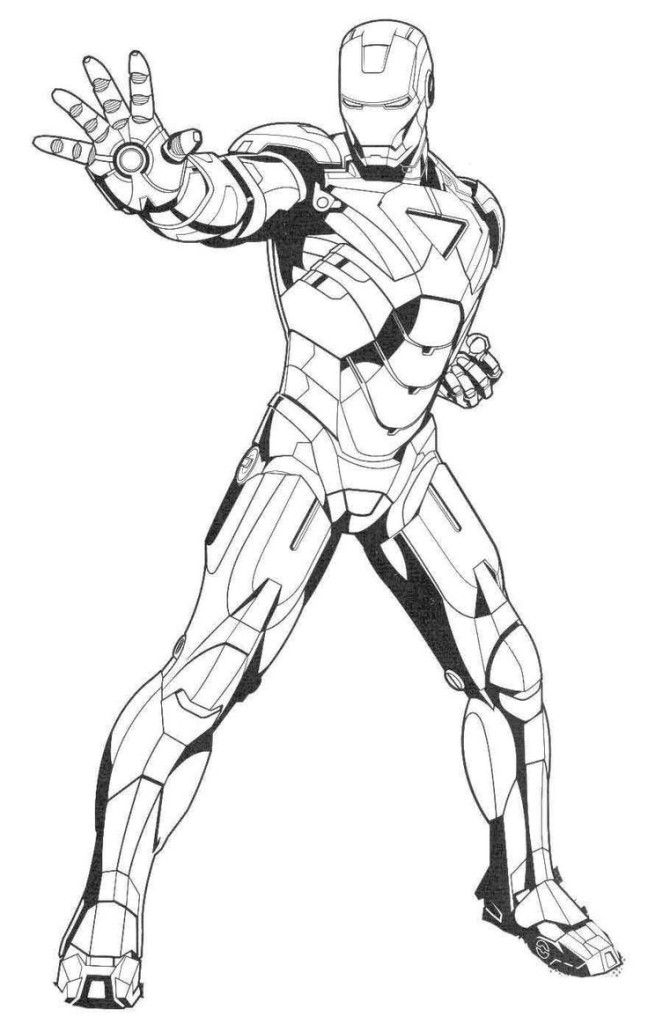 Printable Ironman Coloring Pages - Enjoy Coloring concernant Coloriage Iron Man À Imprimer