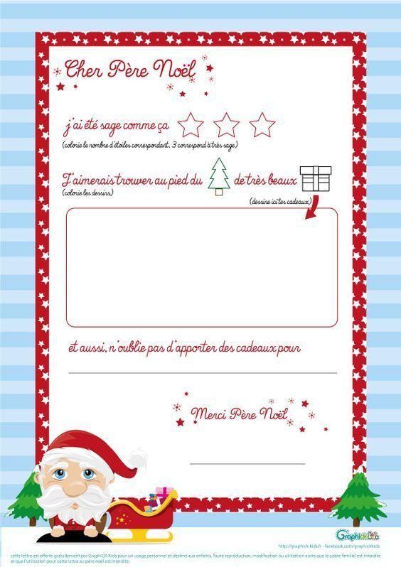 {Printable} Letters To Santa Claus # 2 Créamalice In 2020 destiné Ecrire Une Lettre Au Pere Noel 2020