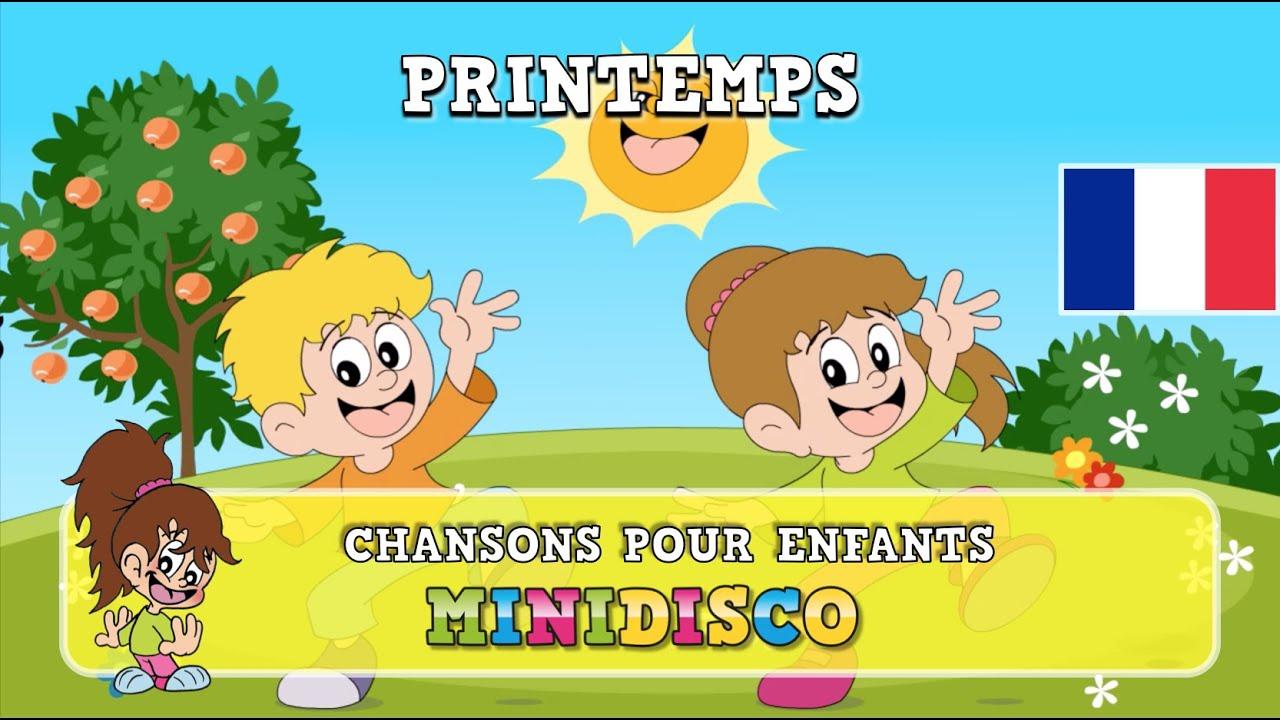 Printemps | Chansons Pour Enfants | Les Comptines | Mini tout Les Chanson Pour Les Bébé