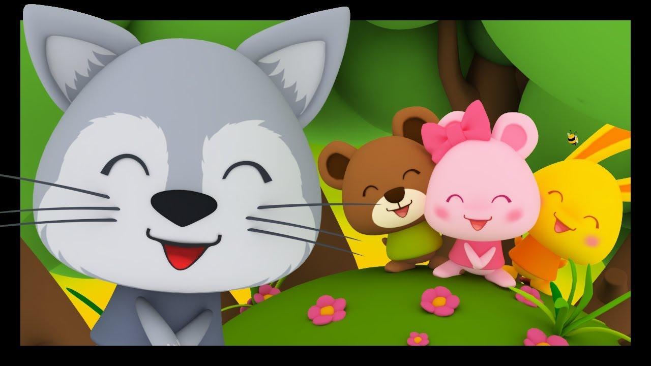 Promenons-Nous Dans Les Bois - Comptines Et Chansons Pour destiné Les Chansons Pour Les Petit Gratuit