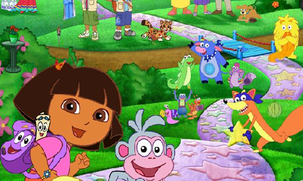 Puzzle De Dora - Stepindance.fr destiné Jeu De Dora Gratuit