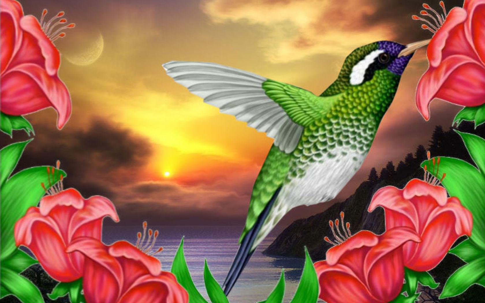 Quand La Vie Est Un Collier | Le Petit Monde De Mini-Fée encequiconcerne Fond ?Cran Fleurs Et Oiseaux