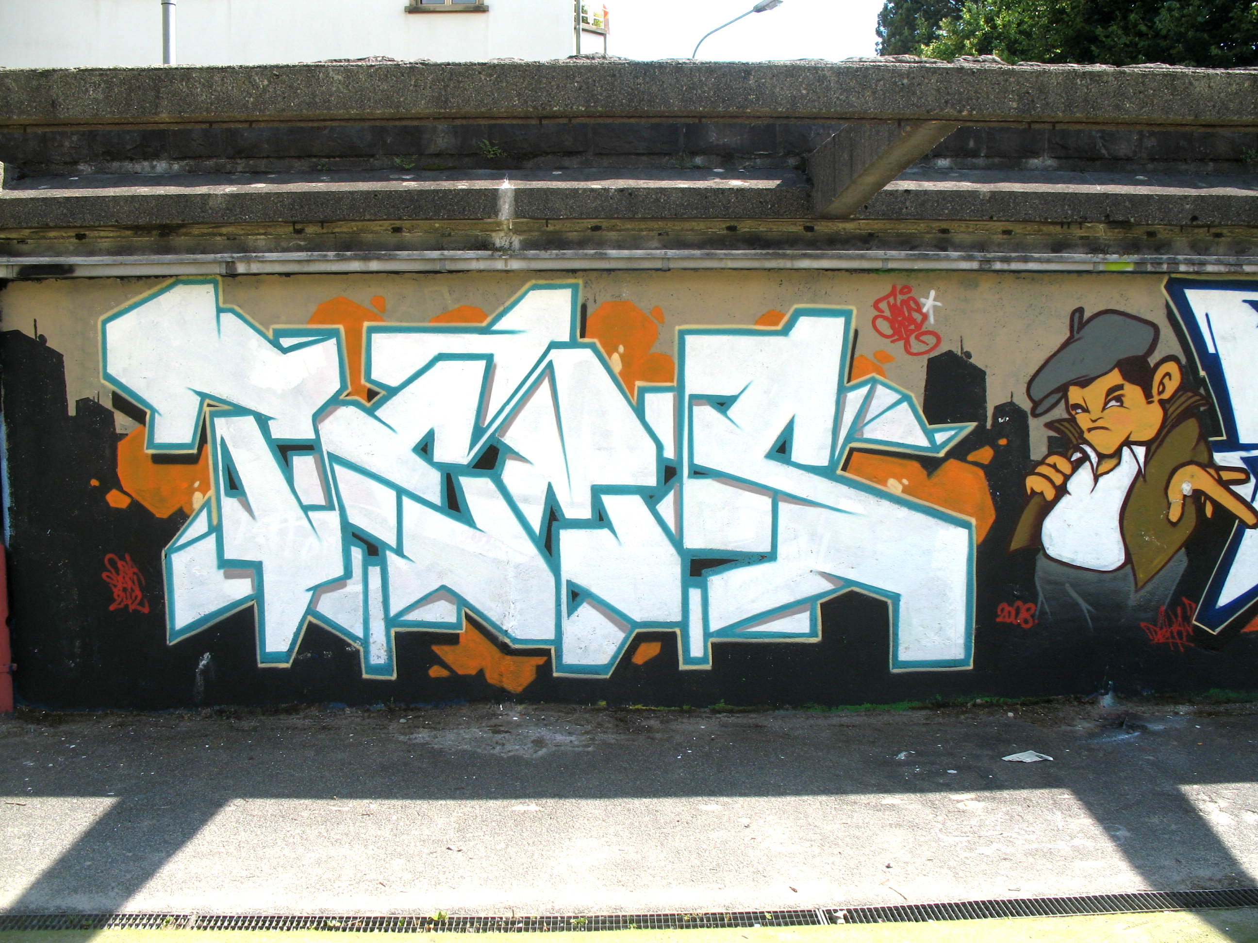 Quand Le Graffiti Et L'archéologie Ne Forment Plus Qu'un à Graffiti Romain