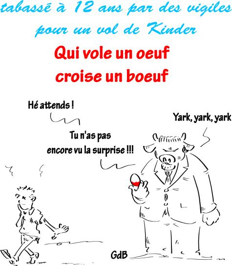 Qui Vole Un Oeuf Croise Un Boeuf - Gdblog destiné Dessin D Un Boeuf