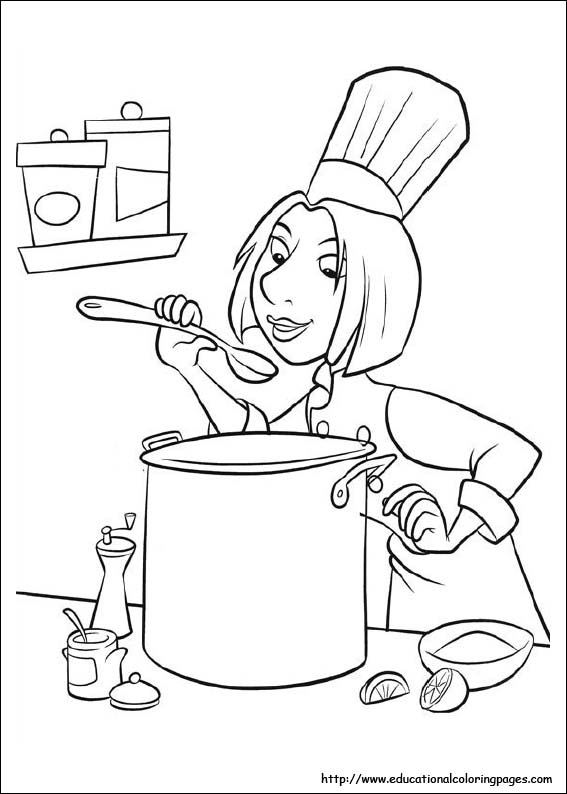 Rauille Coloring Pages - Educational Fun Kids Coloring tout Coloriage Ratatouille