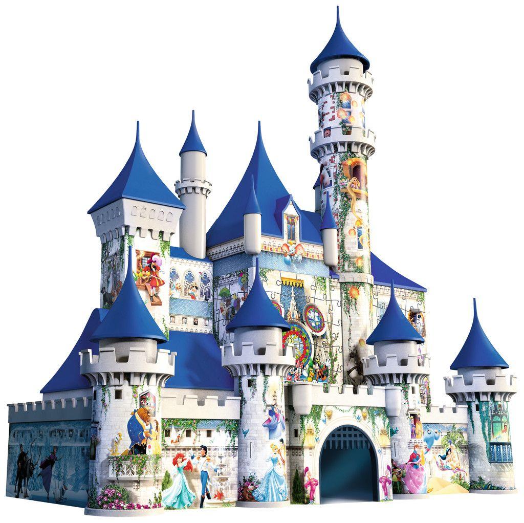 Ravensburger Disney Castle 3D Puzzle - 216 Piiece- Puzzle concernant Dessin Chateau Disney