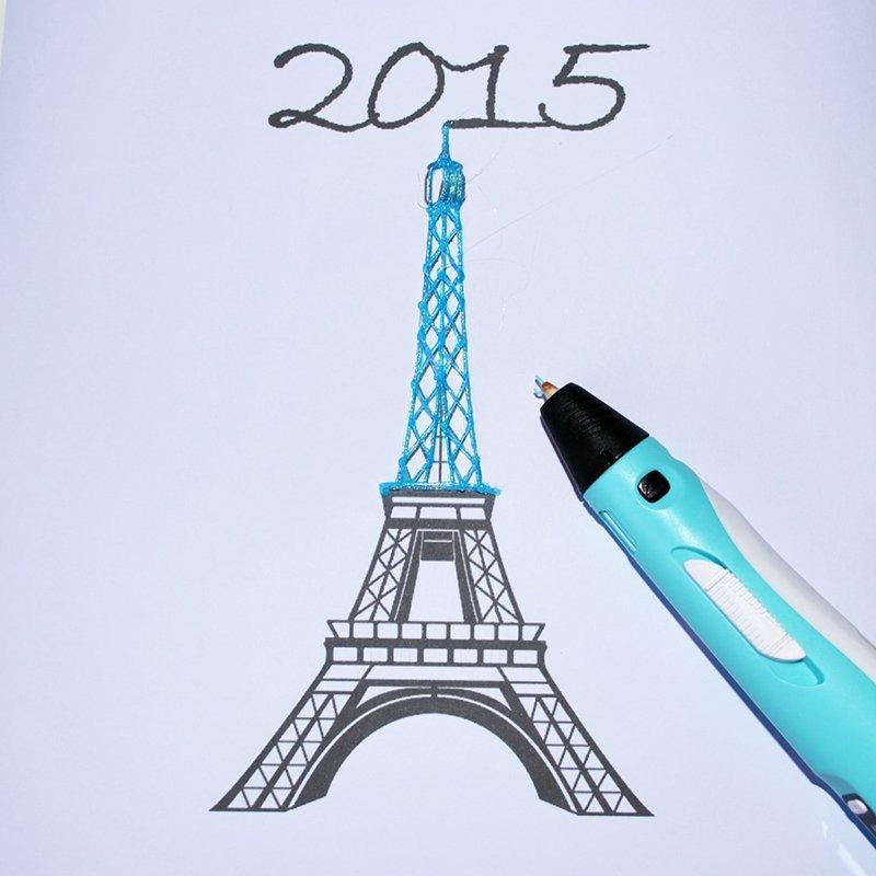 Réalisez Une Tour Eiffel En 3D ! - Marie Claire pour Dessiner La Tour Eiffel