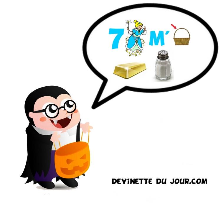 Rébus Halloween | Devinette Du Jour à Devientte Charade Rebu